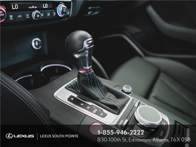 2018 Audi S3 2.0T Technik (Stk: L900659A) in Edmonton - Image 11 of 19