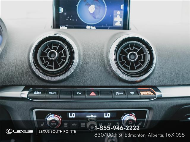 2018 Audi S3 2.0T Technik (Stk: L900659A) in Edmonton - Image 13 of 19