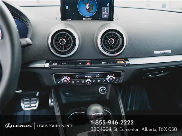 2018 Audi S3 2.0T Technik (Stk: L900659A) in Edmonton - Image 12 of 19