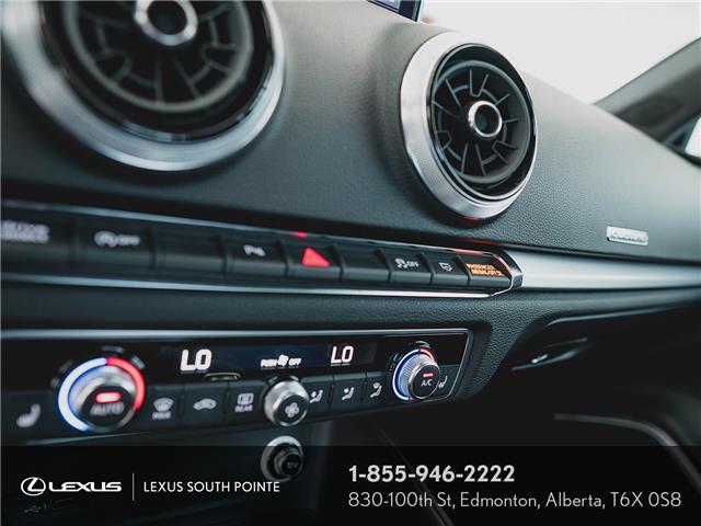 2018 Audi S3 2.0T Technik (Stk: L900659A) in Edmonton - Image 14 of 19