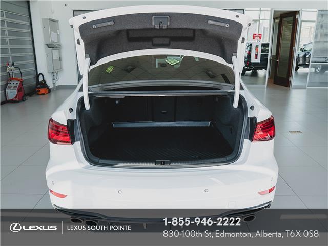 2018 Audi S3 2.0T Technik (Stk: L900659A) in Edmonton - Image 19 of 19
