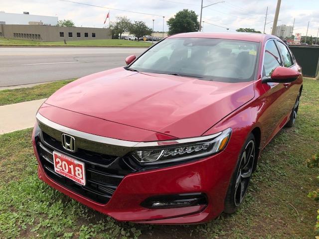 2018 Honda Accord Sport (Stk: J9708) in Georgetown - Image 1 of 7