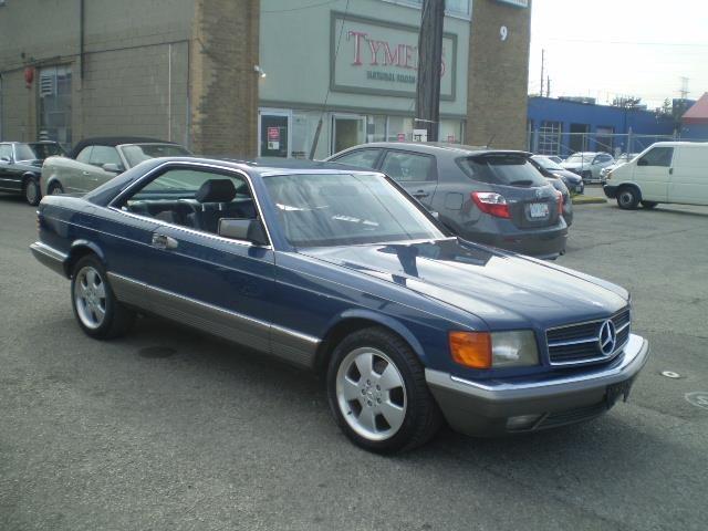 1985 Mercedes-Benz 500 SEC SPORT COUPE at $17900 for sale in
