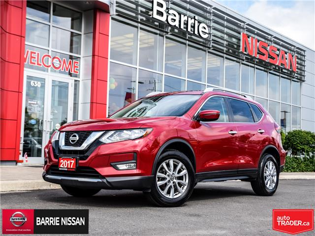 2017 Nissan Rogue SV (Stk: P4573) in Barrie - Image 1 of 26
