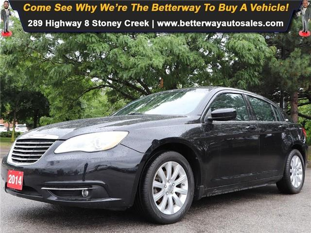 2014 Chrysler 200 Touring| Remote Start| Heat Seat| PWR Seats (Stk: 5386A) in Stoney Creek - Image 1 of 16