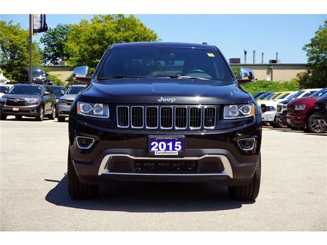 2015 Jeep Grand Cherokee LIMITED| 4X4| SUNROOF| NAV| LEATHER & MORE (Stk: K499A) in Burlington - Image 2 of 50