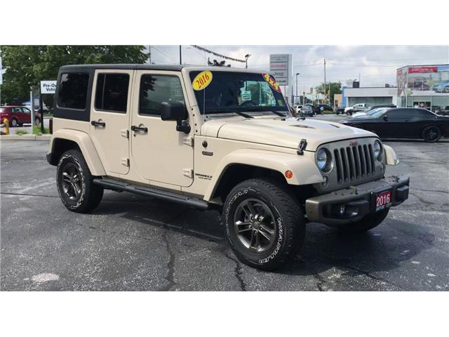 2016 Jeep Wrangler Unlimited Sahara (Stk: 44802A) in Windsor - Image 2 of 13