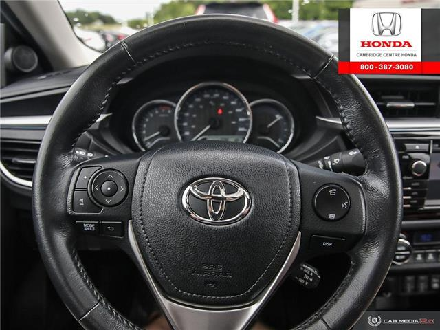 2014 Toyota Corolla LE (Stk: 19978A) in Cambridge - Image 14 of 26