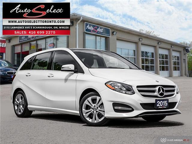 2015 Mercedes-Benz B-Class 4Matic (Stk: 1MB24M6) in Scarborough - Image 1 of 29