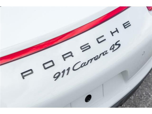 2018 Porsche 911 Carrera 4S (Stk: 19HMS622) in Mississauga - Image 8 of 26