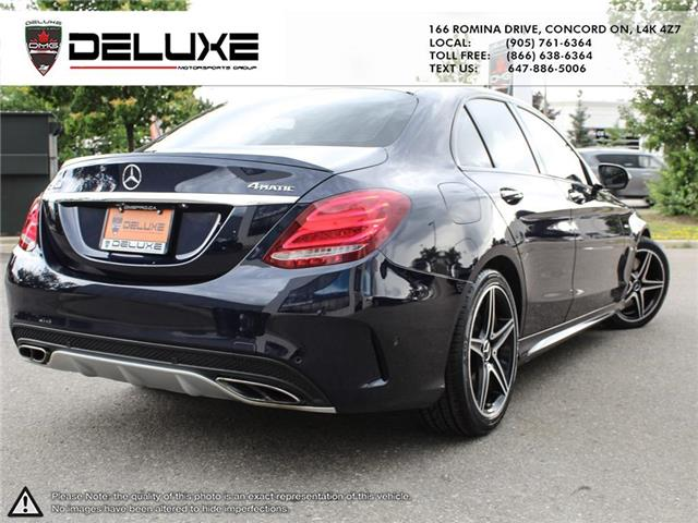 2016 Mercedes-Benz C-Class Base (Stk: D0614) in Concord - Image 6 of 27