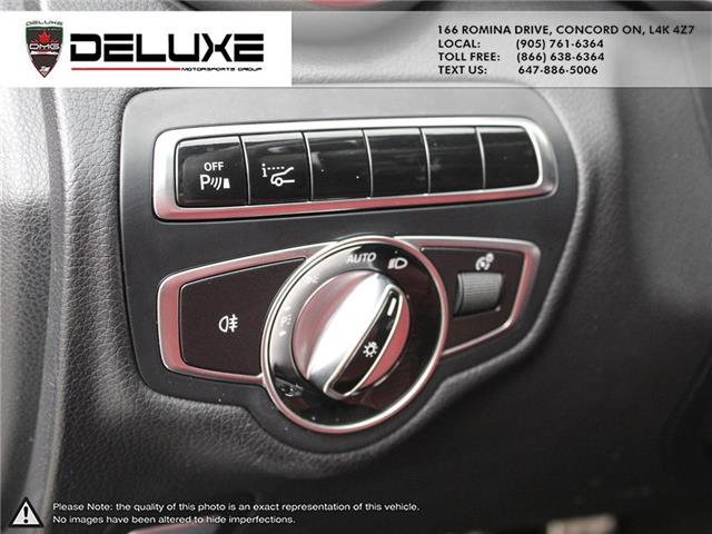 2016 Mercedes-Benz C-Class Base (Stk: D0614) in Concord - Image 25 of 27