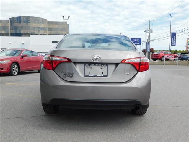 2016 Toyota Corolla LE (Stk: a2062a) in Gatineau - Image 6 of 16