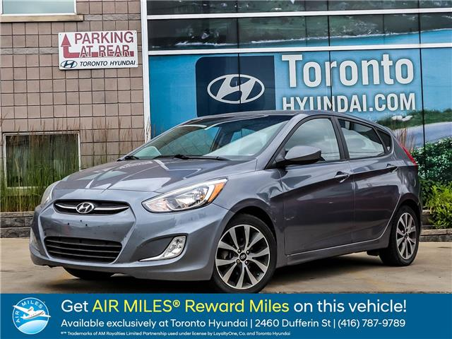 2015 Hyundai Accent SE (Stk: U06568) in Toronto - Image 1 of 1