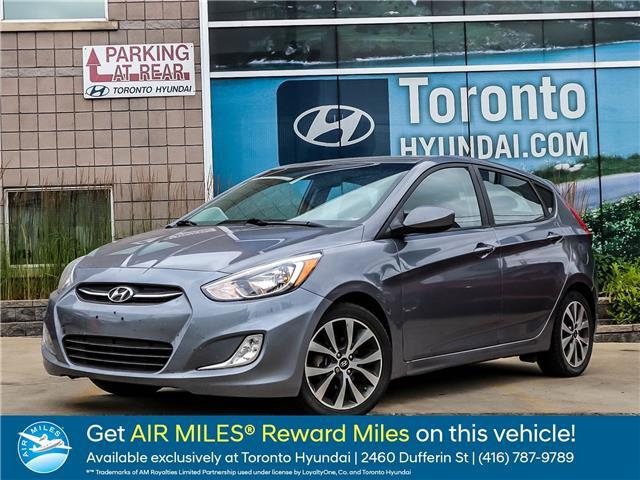 2015 Hyundai Accent SE (Stk: U06568) in Toronto - Image 1 of 1