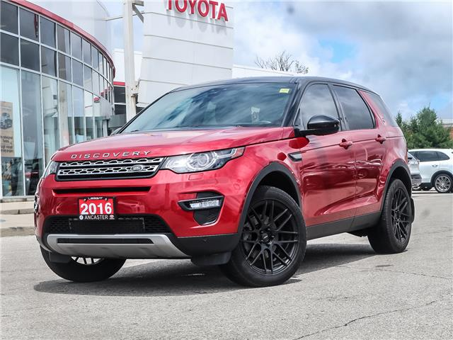 2016 Land Rover Discovery Sport HSE (Stk: 19449A) in Ancaster - Image 2 of 30