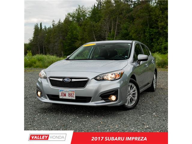 2017 Subaru Impreza  (Stk: U5247A) in Woodstock - Image 1 of 10