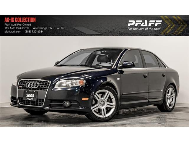 2008 Audi A4 2.0T Special Edition (Stk: C6698A) in Woodbridge - Image 1 of 22