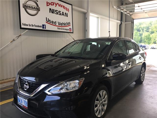 2017 Nissan Sentra 1.8 SV (Stk: P0708) in Owen Sound - Image 1 of 10