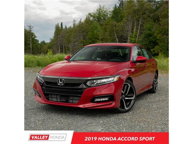 2019 Honda Accord Sport 1.5T (Stk: N05292) in Woodstock - Image 1 of 10