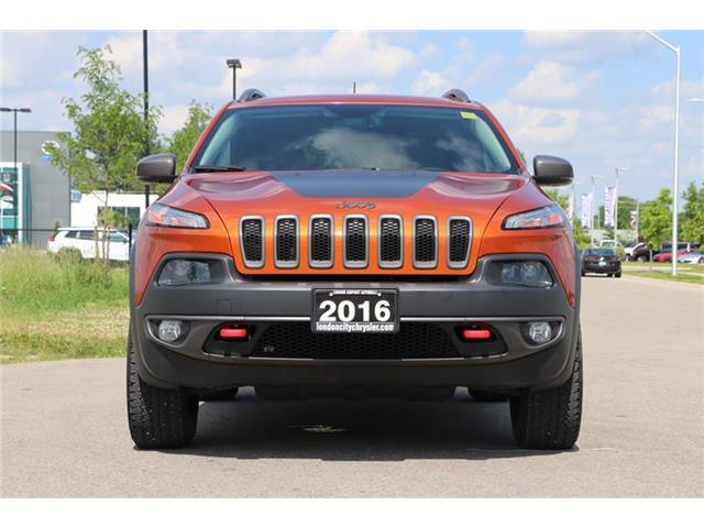 2016 Jeep Cherokee Trailhawk (Stk: LC9561A) in London - Image 2 of 18