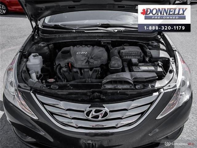 2011 Hyundai Sonata Limited (Stk: PBWMS83A) in Kanata - Image 8 of 27
