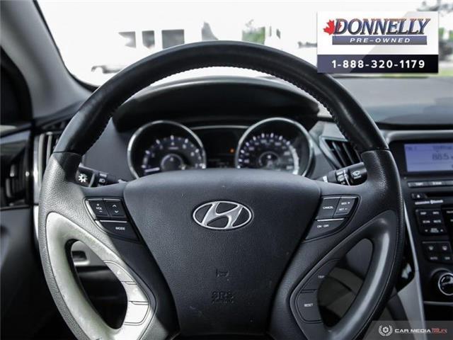 2011 Hyundai Sonata Limited (Stk: PBWMS83A) in Kanata - Image 14 of 27