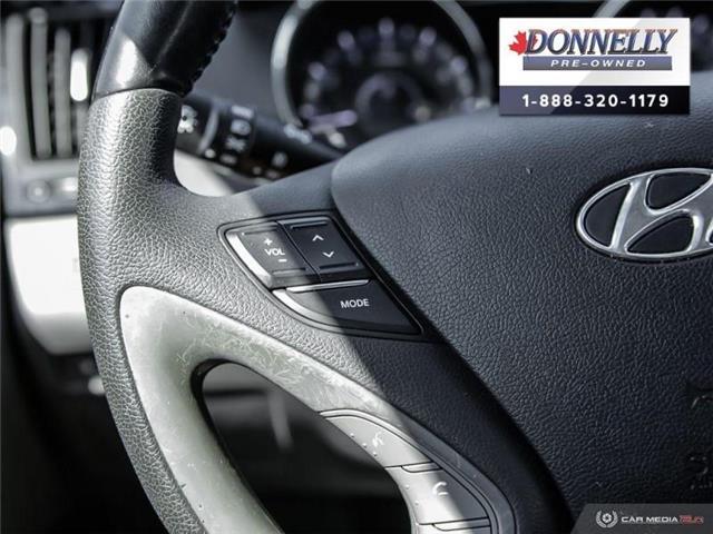 2011 Hyundai Sonata Limited (Stk: PBWMS83A) in Kanata - Image 18 of 27