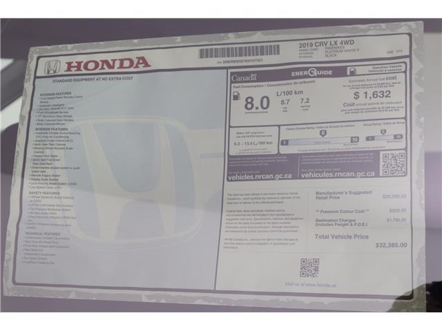 2019 Honda CR-V LX (Stk: 219554) in Huntsville - Image 11 of 31