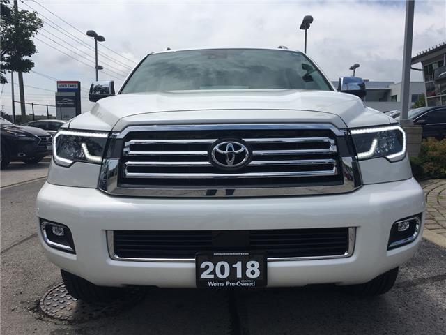 2018 Toyota Sequoia Platinum 5.7L V8 (Stk: 1744W) in Oakville - Image 2 of 30