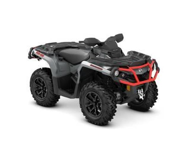 New 2018 Can-Am Outlander™ XT™ 1000R Brushed Aluminum & Can-Am Red   - YORKTON - FFUN Motorsports Yorkton