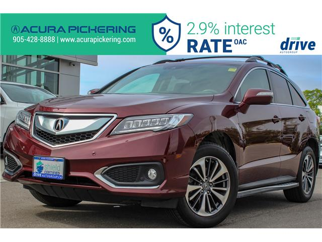 2017 Acura RDX Elite (Stk: AP4889) in Pickering - Image 1 of 33