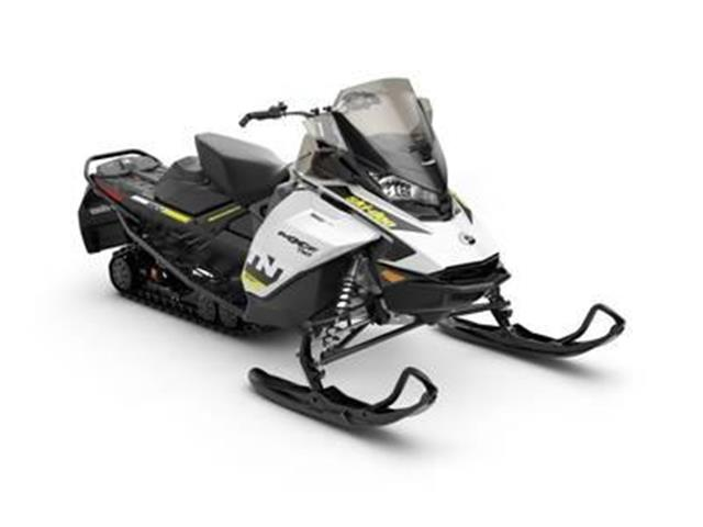 New 2019 Ski-Doo MXZ® TNT® 600R E-TEC White & Black   - SASKATOON - FFUN Motorsports Saskatoon