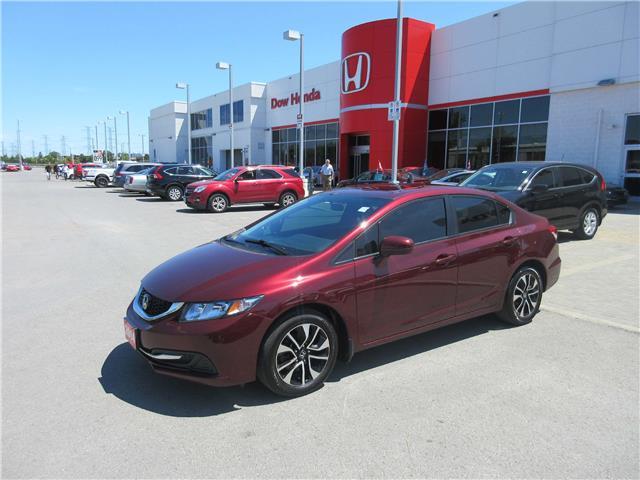 2014 Honda Civic EX (Stk: 27333L) in Ottawa - Image 1 of 16