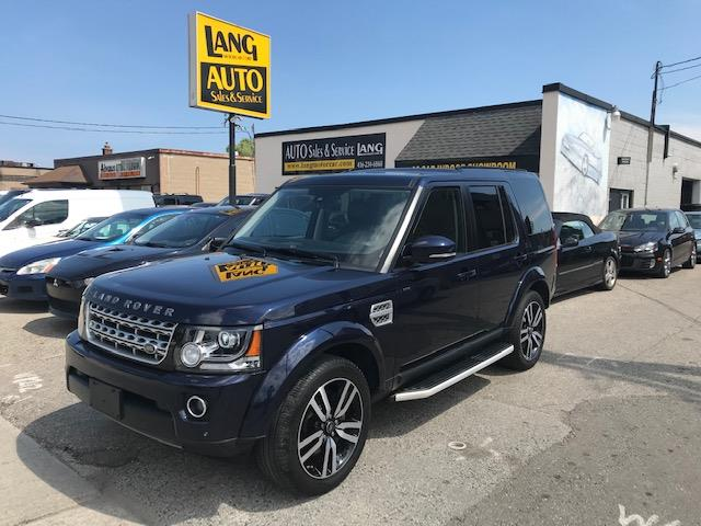 2016 Land Rover LR4 3.0 V6 HSE LUXURY LUXURY LANDMARK PACKAGE HSE LUXURY SUPERCHARGED (Stk: 13161) in Etobicoke - Image 1 of 20