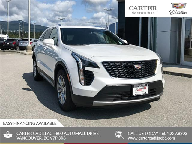 2020 Cadillac XT4 AWD Premium Luxury (Stk: D44870) in North Vancouver - Image 1 of 24
