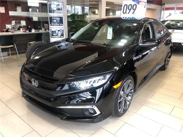 2019 Honda Civic Touring (Stk: N4873) in Niagara Falls - Image 2 of 5