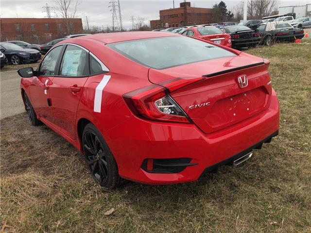 2019 Honda Civic Sport (Stk: N5082) in Niagara Falls - Image 2 of 4