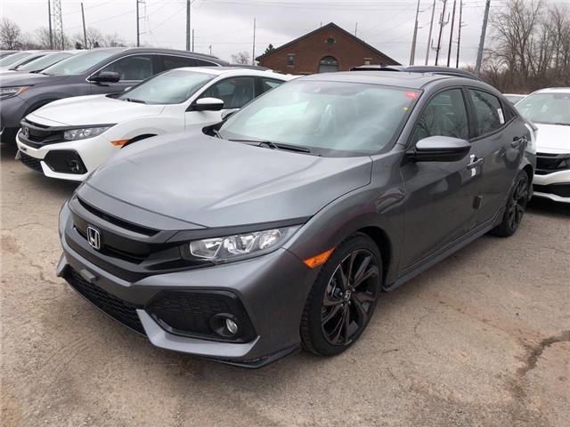 2019 Honda Civic Sport (Stk: N5088) in Niagara Falls - Image 2 of 5