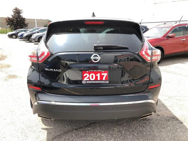 2017 Nissan Murano S-FWD (Stk: U3062) in Scarborough - Image 6 of 22