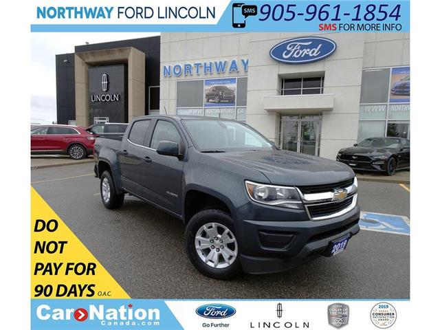 2019 Chevrolet Colorado LT 4X4  PWR SEATS   BACK UP CAM   CREW CAB   WIFI (Stk: DR122) in Brantford - Image 1 of 39