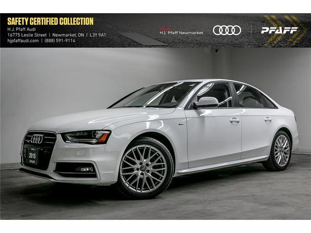 2015 Audi A4 2.0T Komfort plus (Stk: 53324) in Newmarket - Image 1 of 22