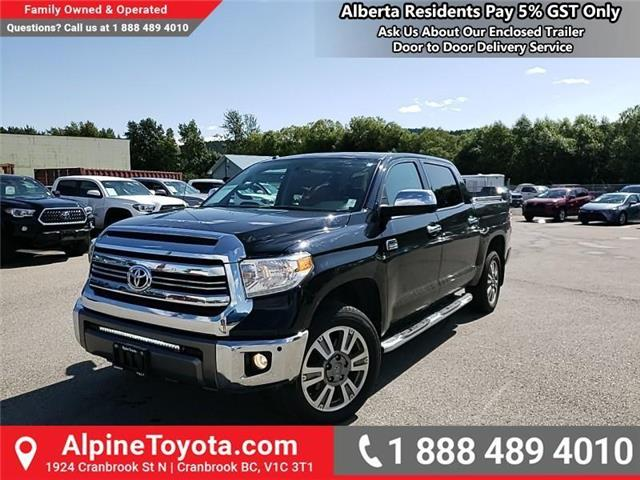 2017 Toyota Tundra  (Stk: X640232M) in Cranbrook - Image 1 of 28