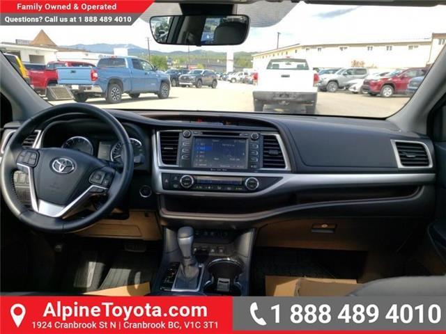 2017 Toyota Highlander XLE (Stk: S403204M) in Cranbrook - Image 10 of 24