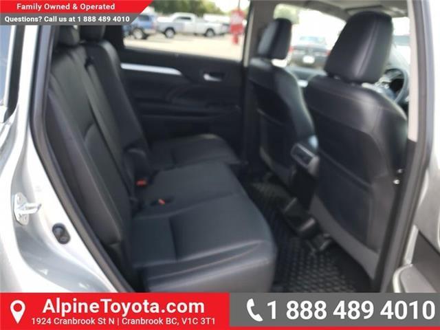 2017 Toyota Highlander XLE (Stk: S403204M) in Cranbrook - Image 12 of 24