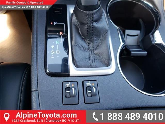 2017 Toyota Highlander XLE (Stk: S403204M) in Cranbrook - Image 19 of 24