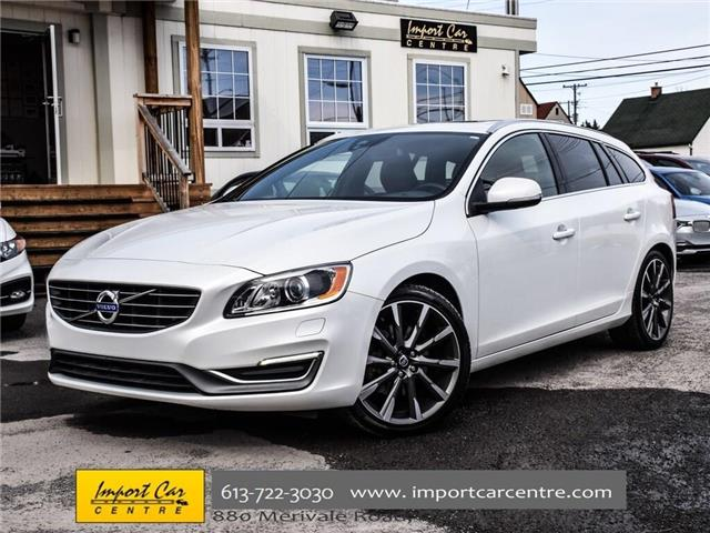 2015 Volvo V60 T5 Premier Plus (Stk: 196420) in Ottawa - Image 1 of 30