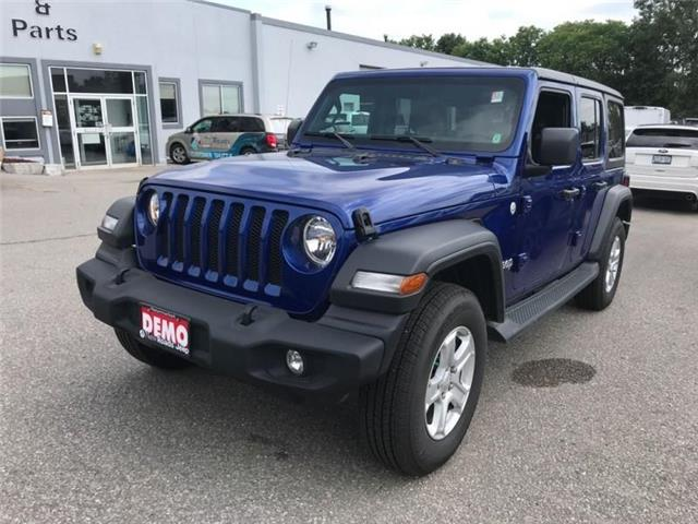 2019 Jeep Wrangler Unlimited Sport (Stk: W18677) in Newmarket - Image 1 of 11