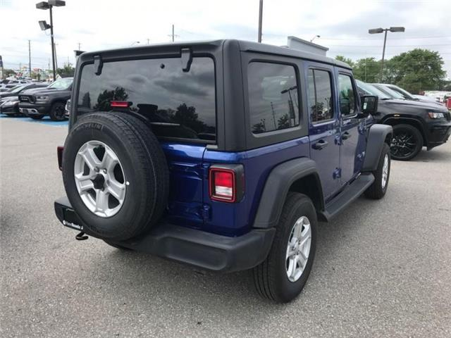 2019 Jeep Wrangler Unlimited Sport (Stk: W18677) in Newmarket - Image 5 of 11
