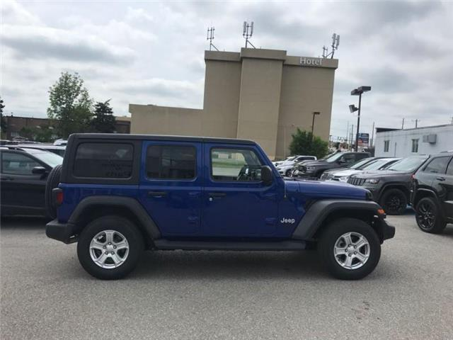 2019 Jeep Wrangler Unlimited Sport (Stk: W18677) in Newmarket - Image 6 of 11